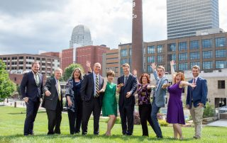 Who We Are, The Maestro team having fun in downtown Winston-Salem.