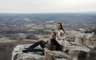 Michael and Courtney on Rocks