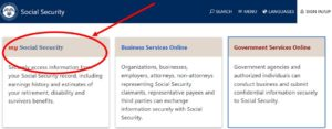 Social Security Online Statement