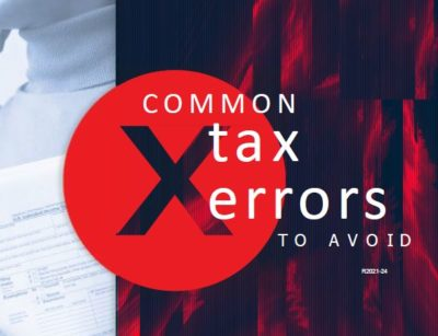 Common Tax Errors to Avoid