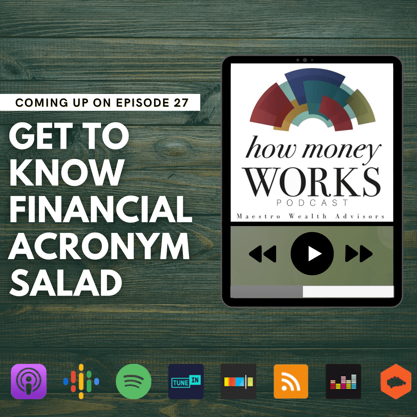Get to Know Financial Acronym Salad