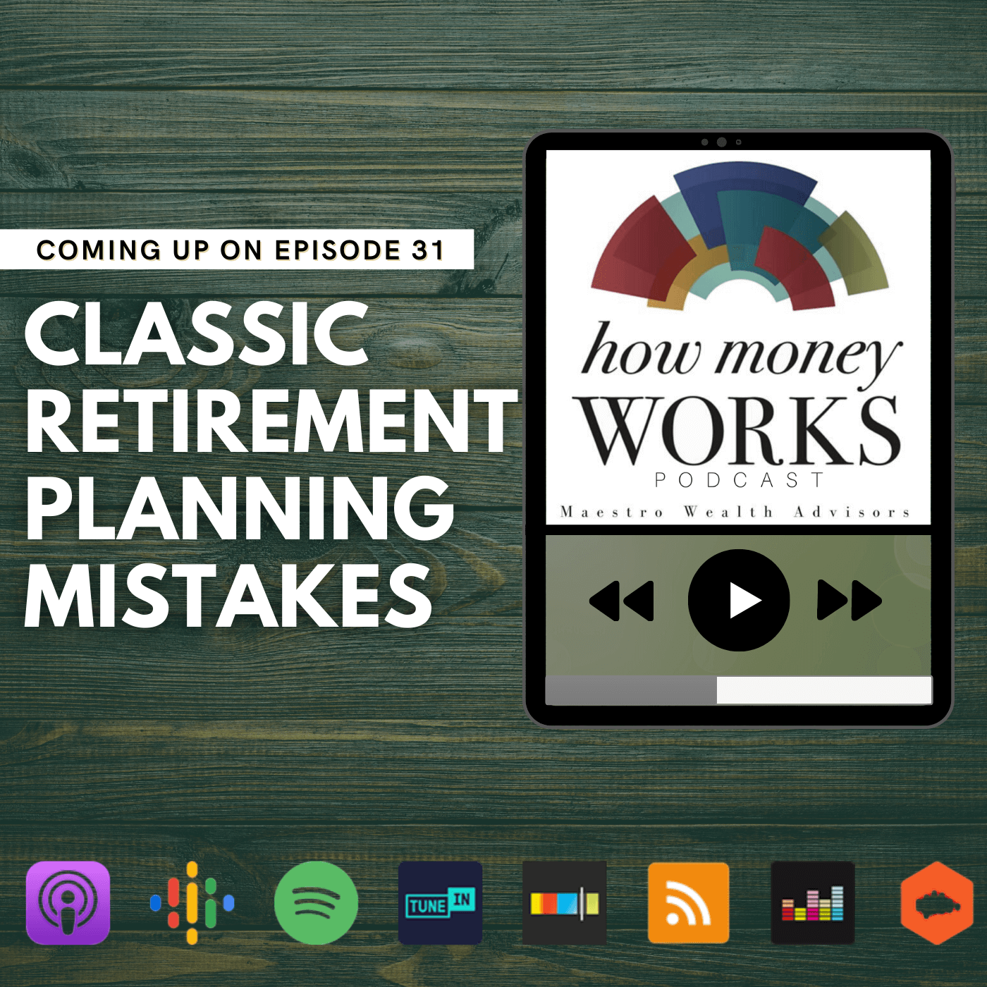 Classic Retirement Planning Mistakes